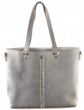 Y-C3.3 BAG120-003 Shopper with Bag in Bag Grey