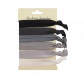 G-E5.2  Ibiza elastic bracelet - hair ribbon 6pcs H002-043