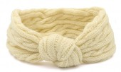 S-J6.2  H401-009D Knitted Headband Beige