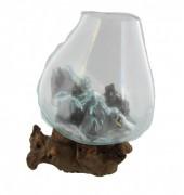 P-H1.2 Glass on Wood Medium 24x20