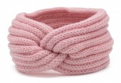 T-A7.2  H401-001E Knitted Headband Pink