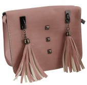 L-A6.1 BAG015-001 Shoulder Bag Pink 20x16x6.5cm