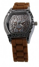B-A3.5 Watch Panther with Rubber Band 40mm Brown
