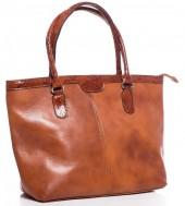 T-B1.2 BAG-849 Large Luxury Leather Bag 46x30x14cm Brown