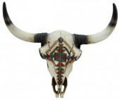 Z-C4.6 #35581 Decorated Skull 44x40cm