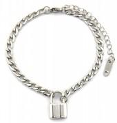 F-F4.2  BN2033-020AS S. Steel Bracelet with 16mm Lock  Silver