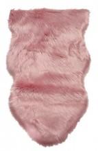 Y-A4.1 FM111-001 Soft Sheepskin Rug Fake Fur 100x60cm Pink