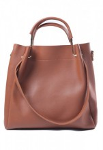 Z-A3.5  BAG417-001E PU Bag 32x31x11cm Brown