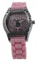 B-B6.7 Watch Panther with Rubber Band 40mm Pink