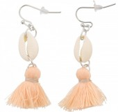 I-C17.2 E009-010 Shell with Tassel Light Pink 5cm