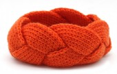 T-F2.2  H401-005B Knitted Headband Orange