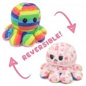 Y-A6.4 T2109-001 Reversible Octopus Rainbow