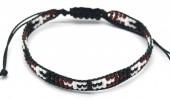 B-B5.3 B2039-017C Bracelet with Glassbeads Black