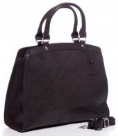 T-G1.1 BAG-795 Luxury Leather Bag 36x30x12cm Black