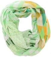 S-H8.4 Loop Scarf Fantasy Green