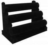 Q-P8.1 Display 3 Layers Black Velvet  32x23x17cm