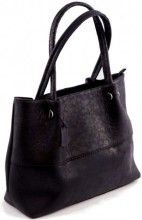 L-B2.1 Luxury Leather Bag 40x30cm Black