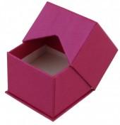 X-N6.1   Luxury Giftbox for Rings 5x5x4cm Pink 10pcs