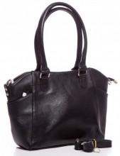 Q-H1.1   BAG-788 Luxury Leather Bag 39x24x10cm Black