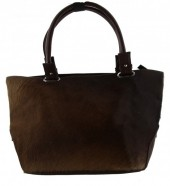 S-A2.1 Luxury XL Cowhide BagBrown Leather with Mixed Cow Hide Can be Used in 2 Ways  50x35x20cm