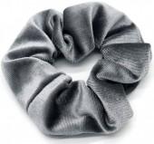 S-J7.3 H305-009 Scrunchie Velvet Grey