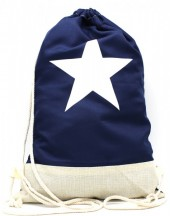 Z-E2.2 BAG325-001 Backpack with Star 50x33cm Blue