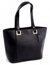K-C3.1 Luxury Leather Bag 38x24cm Black