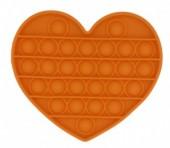 Pop It Heart - Orange