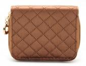 X-F3.1 WA321-003 Small Velvet Wallet Brown