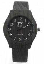 A-C4.1 Wood Look Watch Dark Grey 35mm