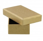 K-F2.1 Giftbox for Earrings or Pendant 8x5x2.5cm Gold