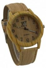 A-D16.6 Wood Look Watch Light Brown 40mm