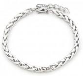 A-C2.3 B126-007 Stainless Steel Bracelet Silver